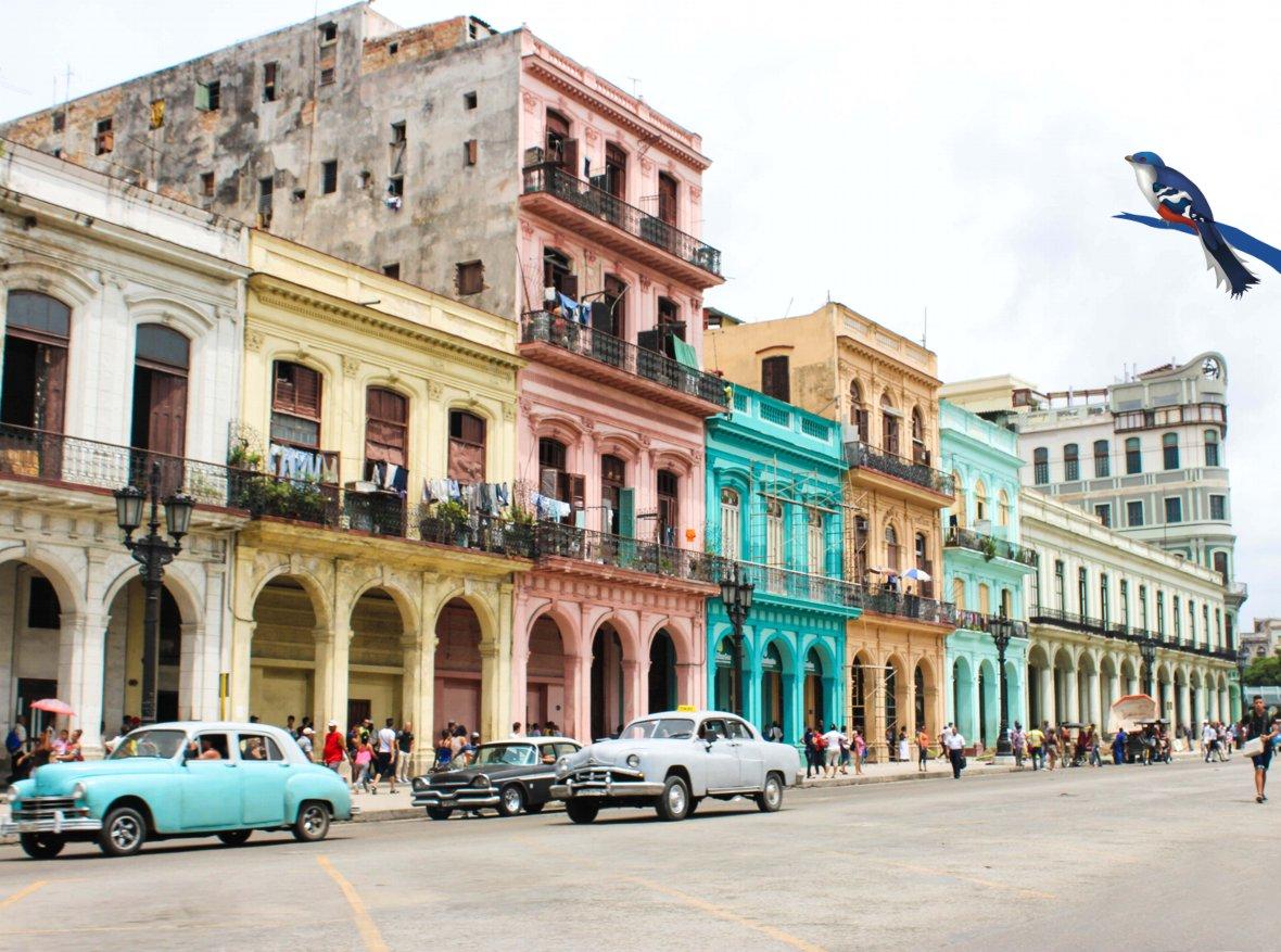 Flights to Havana, Cuba