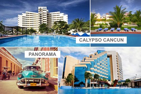 Panorama HAB + Calypso CUN | 4 d�as