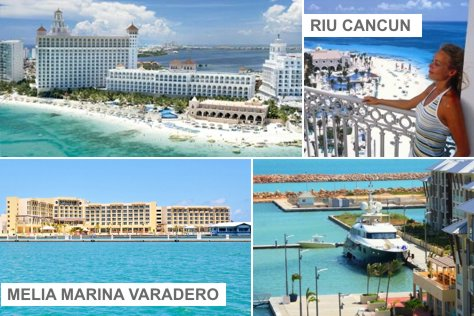 Melia Memories VAR + Riu CUN = 4 days