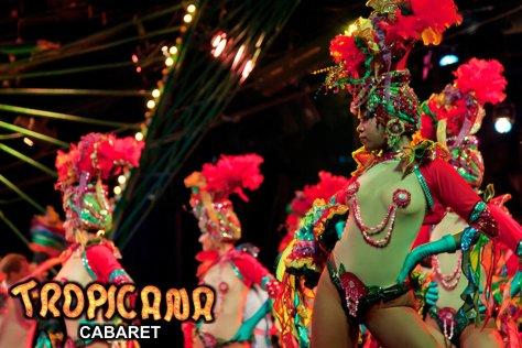 Cabaret Tropicana: Traslado, Entrada sin Cena