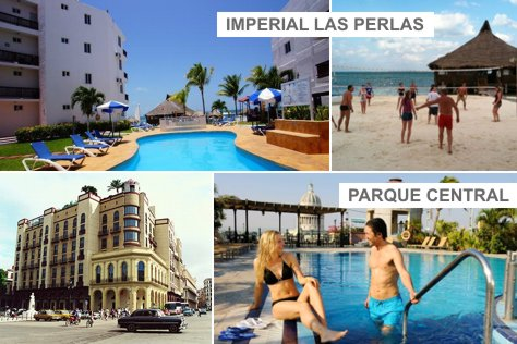 Parque Central HAV + Imperial las Perlas CUN | 4 days