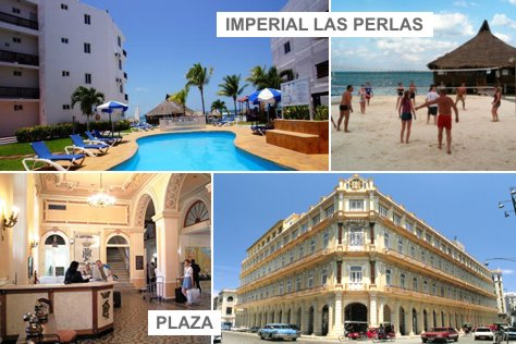 Plaza HAB + Imperial las Perlas CUN | 4 d�as