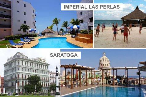 Saratoga HAV + Imperial las Perlas CUN | 4 days